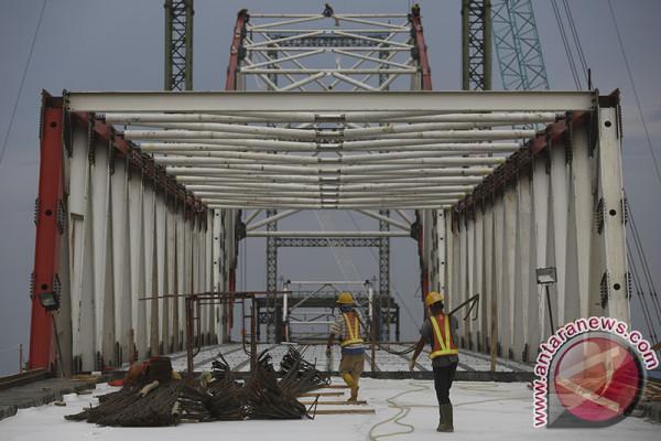 Jembatan musi VI ditargetkan selesai Agustus 2018