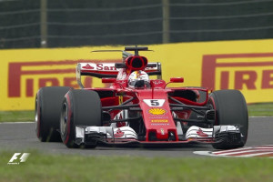 Vettel tercepat di FP1 GP Jepang