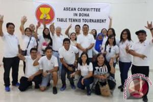 Indonesia Juara Pingpong HUT ASEAN Di Qatar