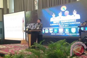 Mendagri buka Rakor Gubernur se-Sumatera