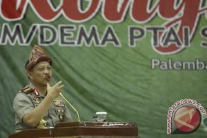 Kapolri Hadiri Kongres BEM PTAI SE INDONESIA