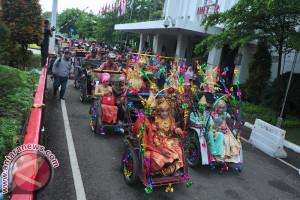 Pawai Nikah Massal di Palembang