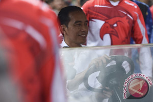 Presiden Jokowi punya jagoan sepak bola sendiri