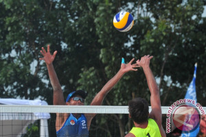 Lagi, tim voli pantai Indonesia telan kekalahan