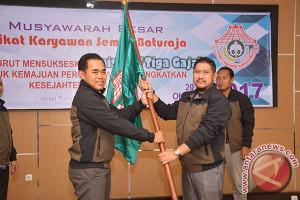 Serikat Karyawan Semen Baturaja siap wujudkan inisiatif  tiga gajah