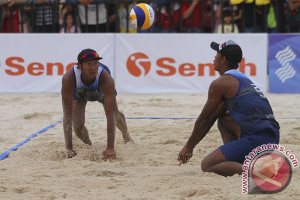 Asian Games (voli pantai) - Rachmawan/Ashfiya ulangi prestasi Indonesia
