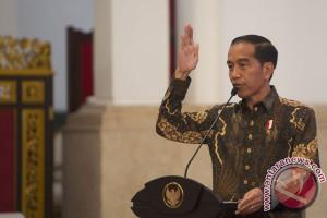 Jokowi berbahasa  Batak saat peresmian Bandara Silangit