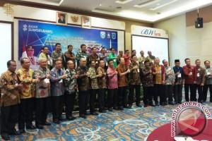 Bank SumselBabel gelar sosialisasi transaksi nontunai di Tanjung Pandan