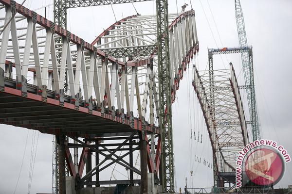 Progres Jembatan Musi VI