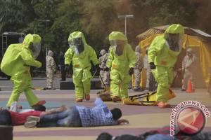 Simulasi Pengamanan Teroris
