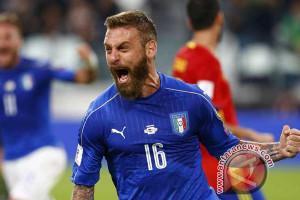 De Rossi: Darah dan keberanian tak cukup untuk Italia