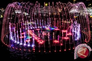 Bukan hanya Palembang, Bali juga bangun taman air mancur menari