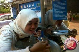 Fasilitas air siap minum akan disiapkan di Jakabaring
