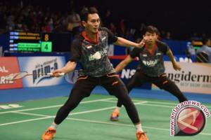 Ahsan/Rian pastikan tiket ke putaran kedua China Terbuka