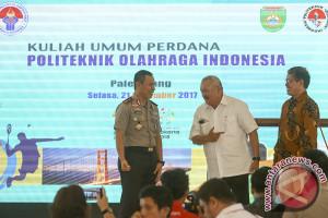 Kuliah Umum Politeknik Olahraga indonesia