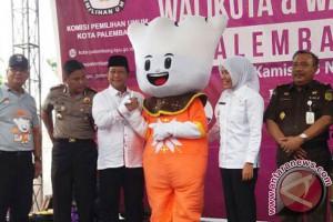 KPU luncurkan Pilkada Palembang 2018