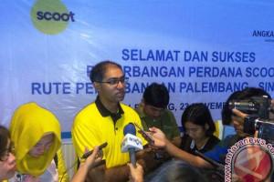Maskapai Scoot bantu promosikan wisata Palembang