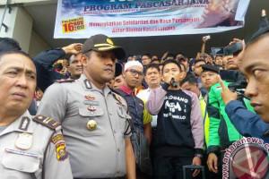 Mahasiswa Palembang penghina ojek daring minta maaf
