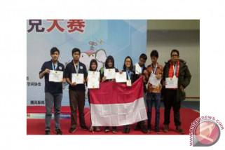Tim Indonesia raih perak di olimpiade robot