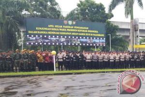 Ribuan personel disiagakan amankan kunjungan Wapres