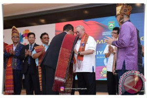 Gubernur ajak Forum Bangsa Batak sukseskan Asian Games 2018