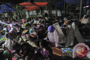 Puluhan keluarga mengungsi akibat gempa di Lebong Bengkulu