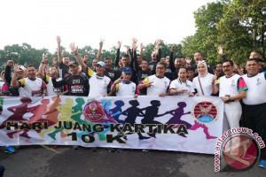 Ribuan peserta ikuti lomba lari 10 K