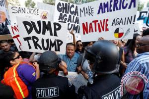 Protes marak digelar cela keputusan Trump terkait Yerusalem
