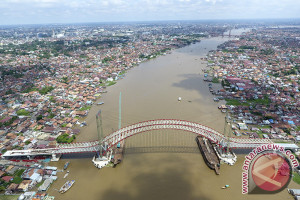 Pembangunan jembatan musi VI selesai pertengahan 2018