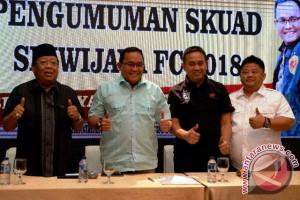 Sriwijaya FC resmikan 27 pemain musim 2018