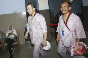 Tes Kesehatan Paslon Wali Kota Palembang