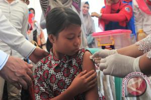 Target Pemberian vaksin difteri Palembang