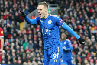 Leicester belum akan mainkan Vardy