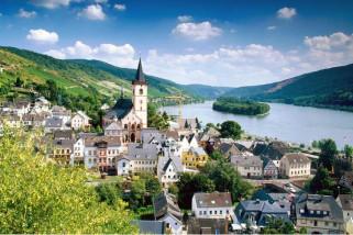 Kenaikan permukaan air sungai Rhine lebih cepat dari perkiraan