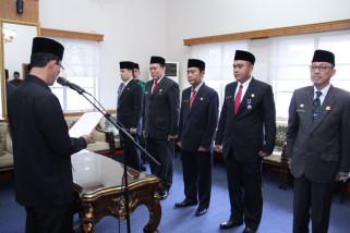 Wali Kota lantik lima pejabat eselon II