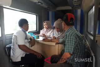 Samsat Palembang cek kesehatan gratis wajib pajak