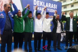 Ishak Mekki-Yudha deklarasi maju Pilkada Sumsel