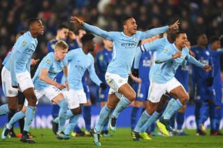 Manchester City hujani gawang Shaktar dengan enam gol