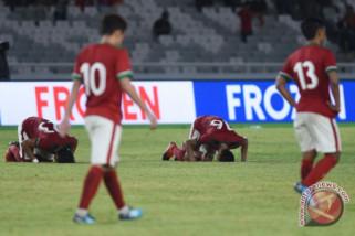 Timnas Indonesia takluk dari Islandia 1-4