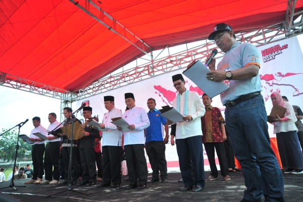 Deklarasi Pilkada Damai Kota Palembang