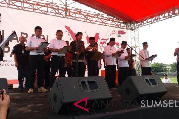 Deklarasi Damai Pilkada Kota Palembang