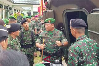 Prajurit Kodam Sriwijaya hijaukan kawasan Jakabaring