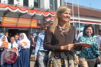 Ratu Maxima berkunjung ke Lampung