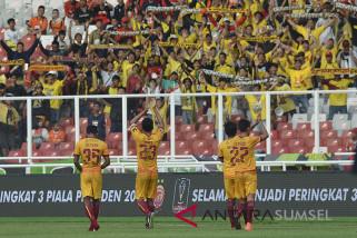 Tiga kelompok suporter Sriwijaya FC komitmen tertib