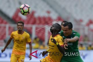 Tiga pemain Sriwijaya FC absen saat hadapi Borneo