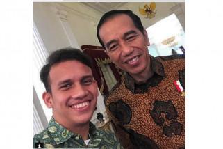 Egy Maulana dapat pesan khusus dari Jokowi