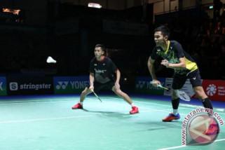 Fajar/Rian pastikan tiket Indonesia di perempat final Piala Thomas