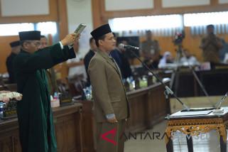 M Subhan resmi menjadi anggota DPRD Sumsel
