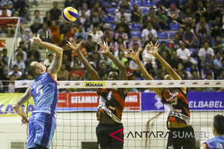 Tim voli Bank Sumsel jaga peluang ke grand final