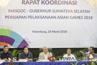 Rakor Persiapan Pelaksanaan Asian Games